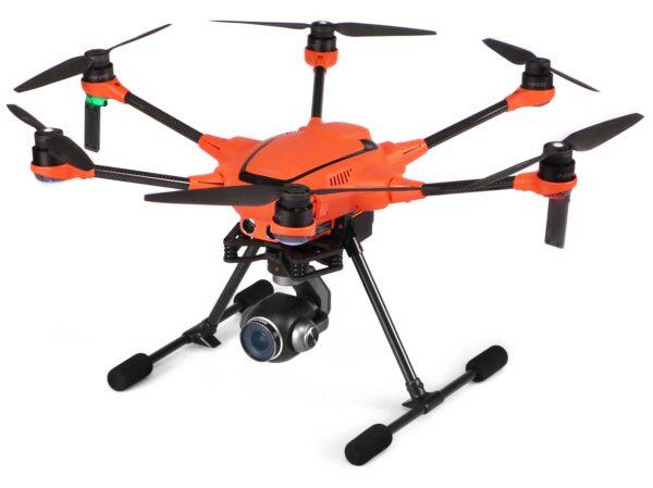 Yuneec experience center Nederland drone H520e RTK op witte achtergrond