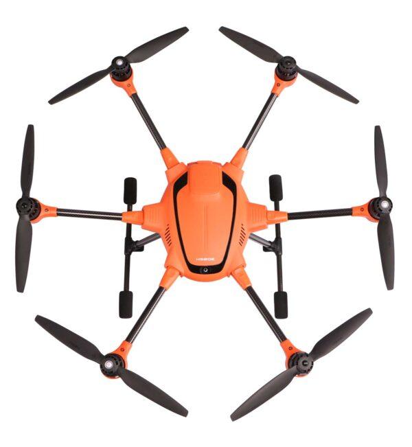 Yuneec experience center Nederland drone H520e bovenaanzicht