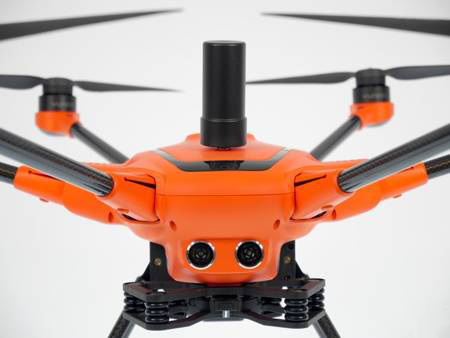 Yuneec experience center Nederland drone H520e RTK close-up opname