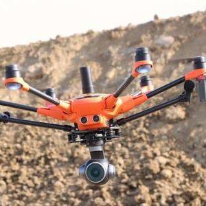 Yuneec experience center Nederland drone H520e RTK in vlucht