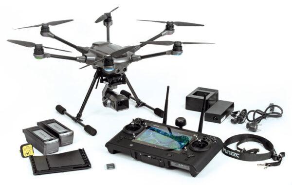 Yuneec experience center Nederland Typhoon H3 drone met toebehoren