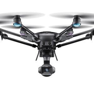 Yuneec experience center Nederland drone Typhoon met leica camera op witte achtergrond