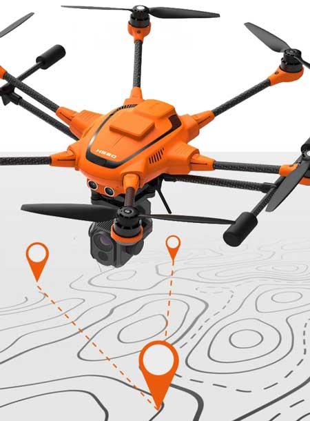 Yuneec Nederland drone camera payload H520E RTK